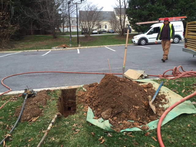 Direct Bore Missile Street Lights – Mount Airy, MD