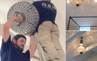 Testimonial – Chandelier Install – Frederick, MD